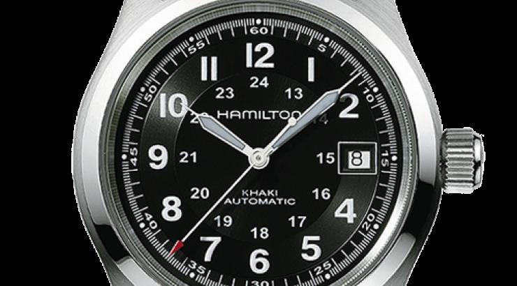 hamilton khaki field H70455533