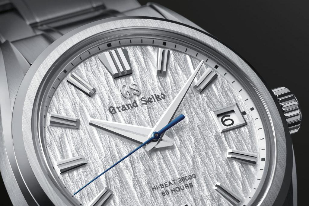 Grand-Seiko-Bianco-betulla-SLGH005 drclock shirakaba quadrante