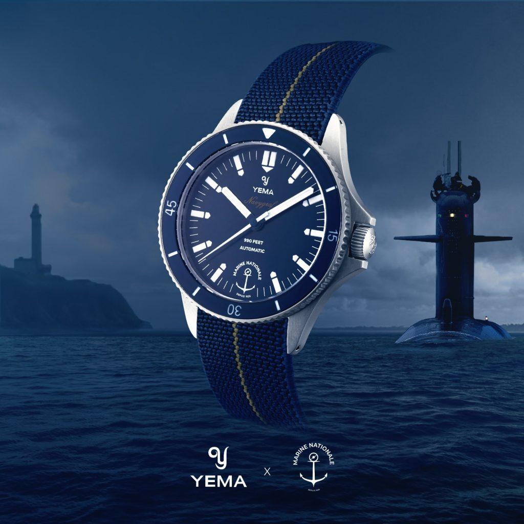 Yema Navygraf per Marine Nationale promotional pic