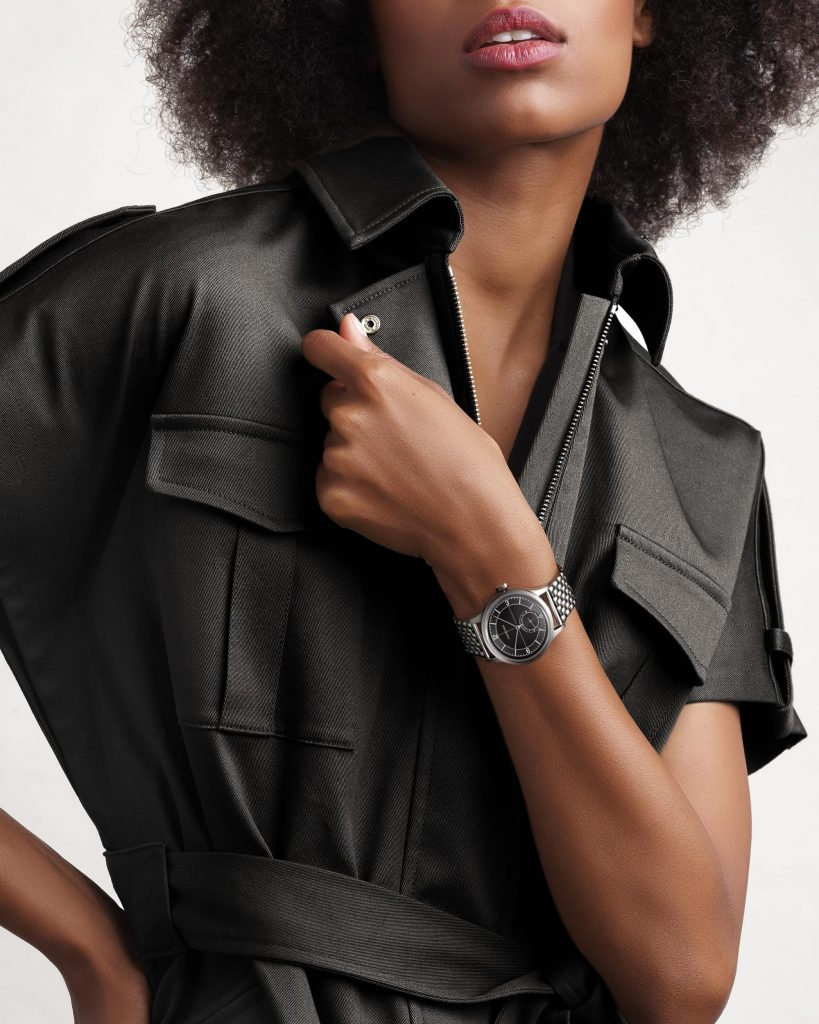 Longines Heritage Classic Black Sector donna